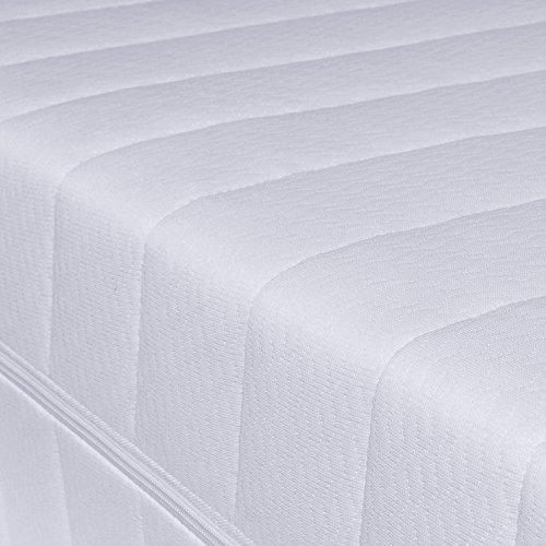 7 zonen h rtegrad h2 h3 wei matratze orthop dische. Black Bedroom Furniture Sets. Home Design Ideas
