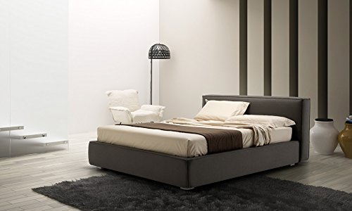 bett doppelbett polsterbett sandra nach ma gelschaum topper. Black Bedroom Furniture Sets. Home Design Ideas
