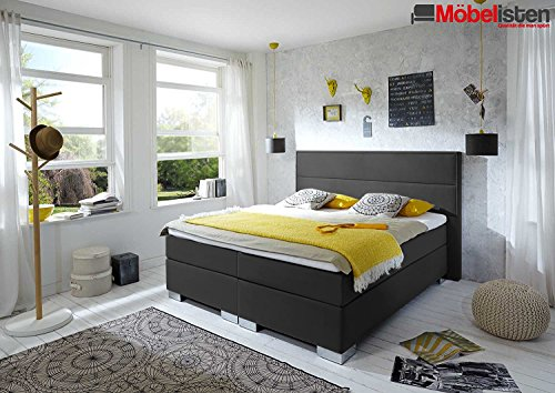 designer boxspringbett lifestyle made in germany tonnentaschenfederkern in der box und in der. Black Bedroom Furniture Sets. Home Design Ideas