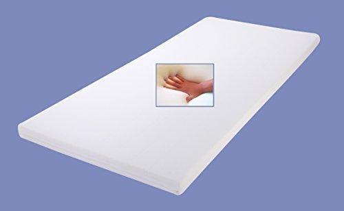 gel gelschaum matratzen topper relax h he 7 cm 80 90 100 x 190 200 cm auflage f r. Black Bedroom Furniture Sets. Home Design Ideas