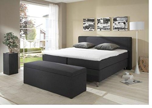 breckle boxspringbett 100 x 200 cm cozy box mero easy big bonnell topper gel standard. Black Bedroom Furniture Sets. Home Design Ideas