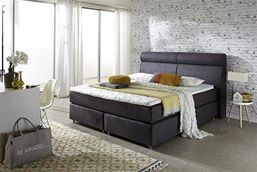 breckle boxspringbett 120 x 200 cm topas box elektro inspiration hollanda tfk topper gel comfort. Black Bedroom Furniture Sets. Home Design Ideas