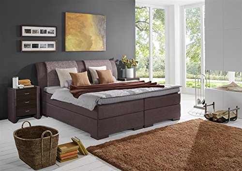 breckle boxspringbett 160 x 200 cm lund box mero easy big bonnell topper gel standard. Black Bedroom Furniture Sets. Home Design Ideas