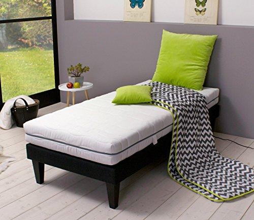 gigapur boston 28602 matratze 7 zonen kaltschaummatratze h2 und h3 komfort schaumstoff matratze. Black Bedroom Furniture Sets. Home Design Ideas