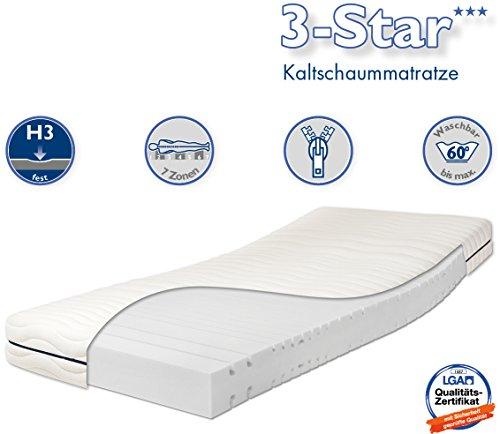traumnacht 3 star orthop dische 7 zonen. Black Bedroom Furniture Sets. Home Design Ideas
