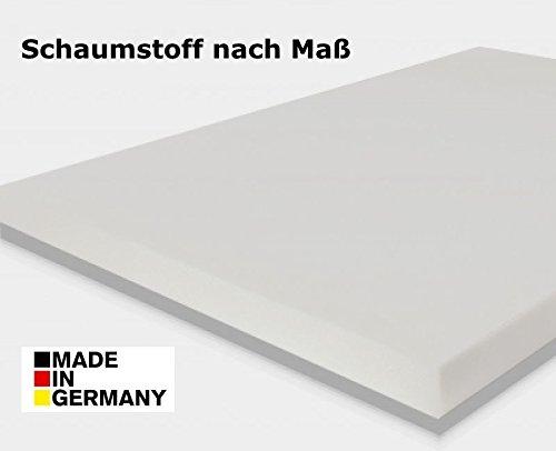 gel gelschaum schaumstoff zuschnitt sitzkissen polster topper rg60 h he 2 3 4 oder 5 cm. Black Bedroom Furniture Sets. Home Design Ideas